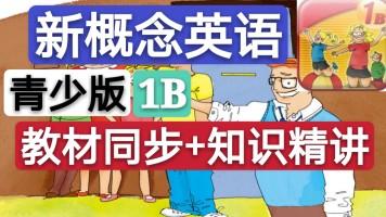 【精品】新概念英语青少版(1B)教材同步+知识精讲