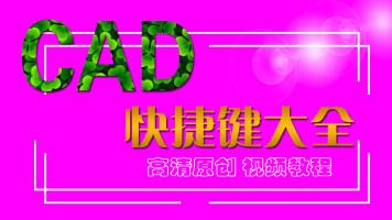 CAD快捷捷命令视频课程 高清原创