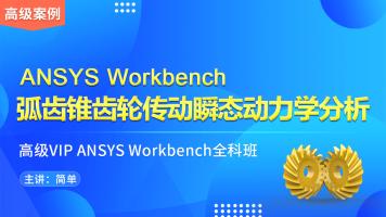 ANSYS WorkBench-09-弧齿锥齿轮传动瞬态动力学分析