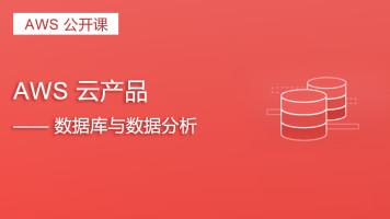 AWS 云产品——数据库与数据分析