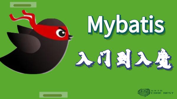 Mybatis从入门到入魔【码巢学院】