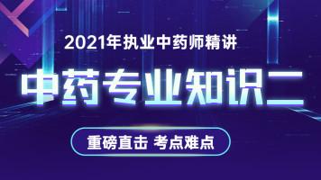 2021执业药师中药专业知识二/孔汲老师/执业中药师/中药二
