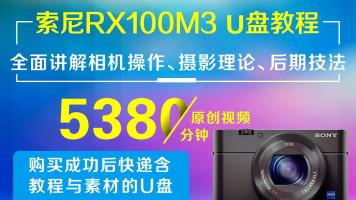 U盘版-索尼RX 100 M3 (黑卡3)摄影从入门到精通