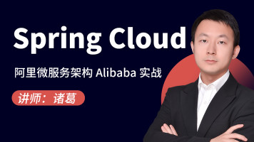 阿里微服务架构Spring Cloud Alibaba实战全过程【图灵学院】
