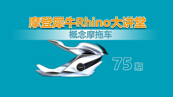 摩登犀牛Rhino第75讲 概念摩拖车