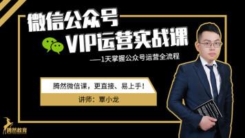 微信公众号VIP运营实战课