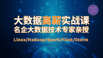 大数据Hadoop离线/实时数据处理机器学习Flink/Spark/Storm_咕泡