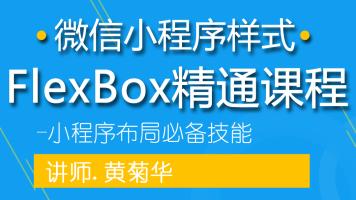 微信小程序样式Flex Box精通课程