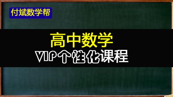 新高中数学VIP个性化1对1、1对n课程(一对一,一对多辅导)