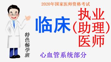 2020年国家医师资格考试临床执业(助理)医师之心血管系统部分