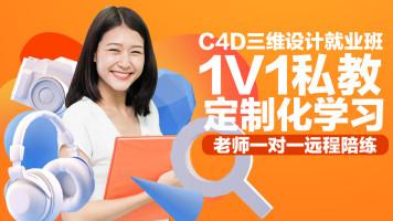 C4D、1V1定制课程