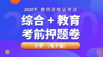 2020下全国教师资格证笔试小学考前押题直播