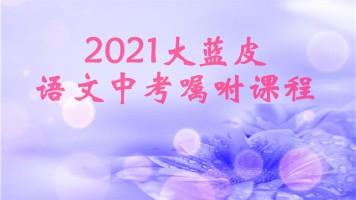 2021大蓝皮语文中考考前嘱咐课程