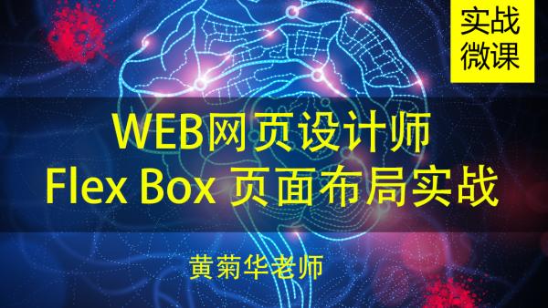 Flex Box各种页面布局实战课程(网页移动端微信等)