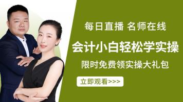 【官方推荐】2021税务+会计实操入门【发票+报税+核算+就业指导】