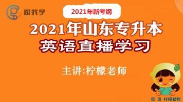 2021/2022/2023山东专升本改革新大纲英语直播视频押题网课模拟卷