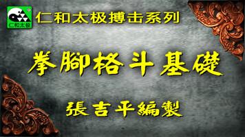 拳脚格斗基础-仁和太极技击八门课之一-张吉平混元太极拳