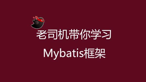 最新版本Mybatis从入门到精通视频教程【MySQL】