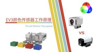 EV3颜色传感器和HiTechnic颜色传感器的工作原理