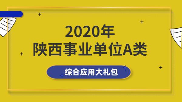 20陕西事业单位(A类)综合