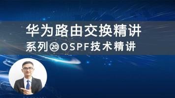 华为HCNP/HCIP路由交换精讲系列⑳OSPF技术精讲 [肖哥]视频课程