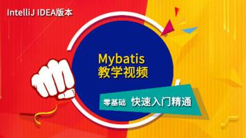 MyBatis视频教程[IntelliJ IDEA版-MySQL/SpringMVC/SpringBoot]
