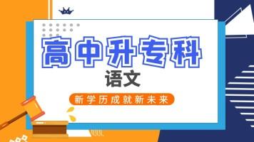 安徽成考高起专语文精讲班/学历提升/专升本/成人高考专升本辅导