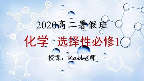 2020暑假班高二化学选修1