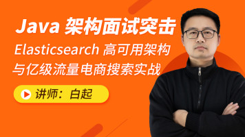 Elasticsearch高可用架构与亿级流量电商搜索实战