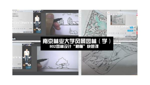 """南京林业大学风景园林(学)802园林设计""""秒懂""""快题课"""