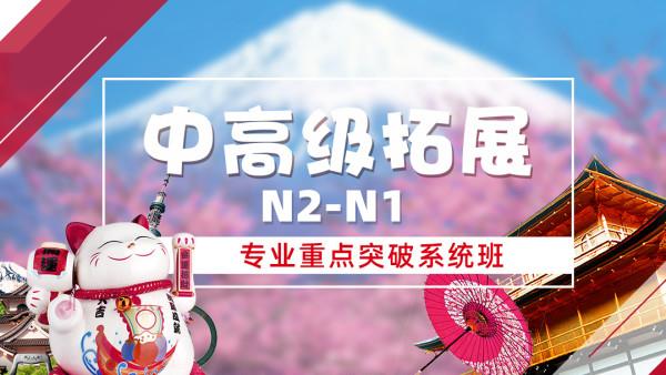 椰子日语:N2-N1系统提升班