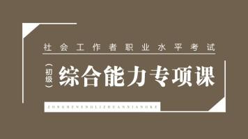 社会工作者职业水平考试(初级)—综合能力专项课