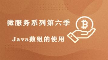 【四二学堂】微服务系列第六季-Java数组的使用
