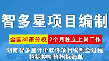 湖南智多星计价软件项目编制全过程、招标控制价招标清单