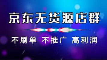 无货源京东店群精细化蓝海采集运营全套VIP课程