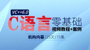 吕鑫:博大精深的VC++6.0培训机构内幕0基础C语言视频教程