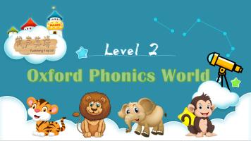 自然拼读 Oxford Phonics World Level 2