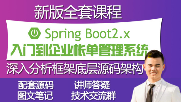 springboot入门到项目实战spring boot微服务架构java教程