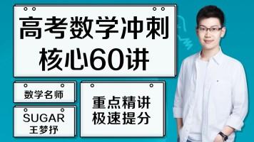 高考数学终极冲刺60讲 sugar王梦抒