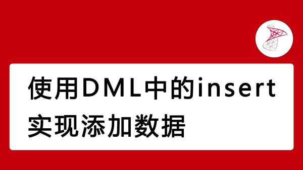 数据库使用DML中的insert实现添加数据_向阳学院