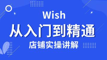 【新华wish】wish入门 店铺实操讲解