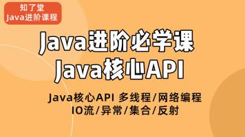 Java核心API多线程/网络编程/IO流/异常/集合/反射