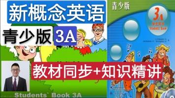 【精品课】新概念英语青少版(3A)教材同步+知识精讲