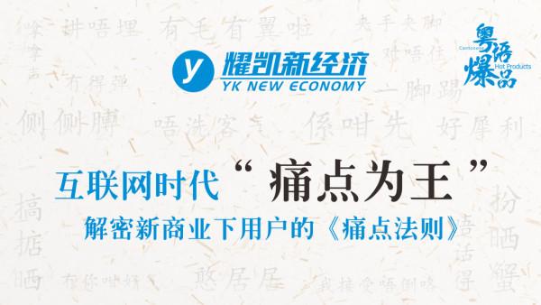 """互联网时代""""痛点为王"""",解密商业""""痛点法则""""【耀凯新经济】"""