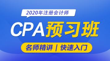 2020CPA六科通关-注册会计师|会计|财管|审计|税法|战略|经济法
