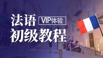 【VIP体验课】零起点简明法语全程班  新公共法语初级教程