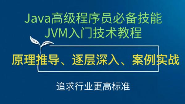 Java高级程序员必备技能JVM/GC视频教程