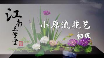 花艺培训课程-小原流花道初级教程【江南三学堂】