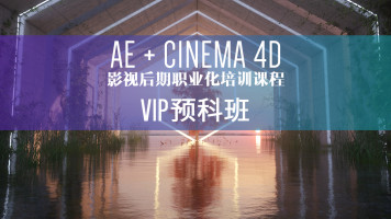 AE+C4D入门学习 平面电商 产品表现 零基础职业化培训课程