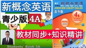 【精品课】新概念英语青少版(4A)教材同步+知识精讲
